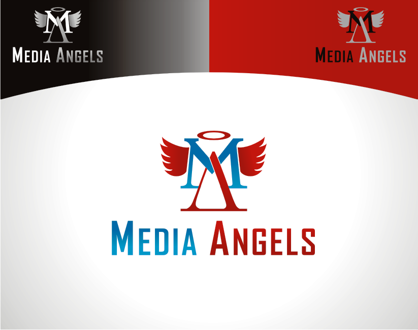 Logo Design by Armada Jamaluddin - Entry No. 149 in the Logo Design Contest New Logo Design for Media Angels.