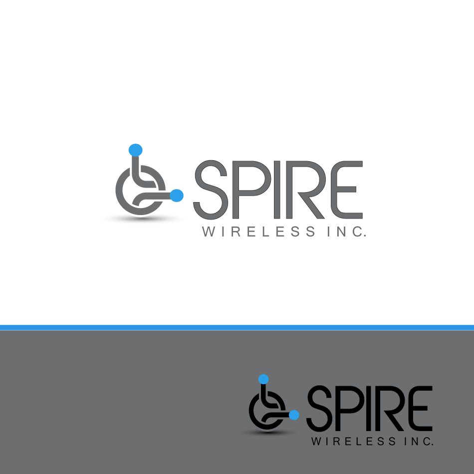 Logo Design by moonflower - Entry No. 188 in the Logo Design Contest Logo Design for Spire Wireless Inc.