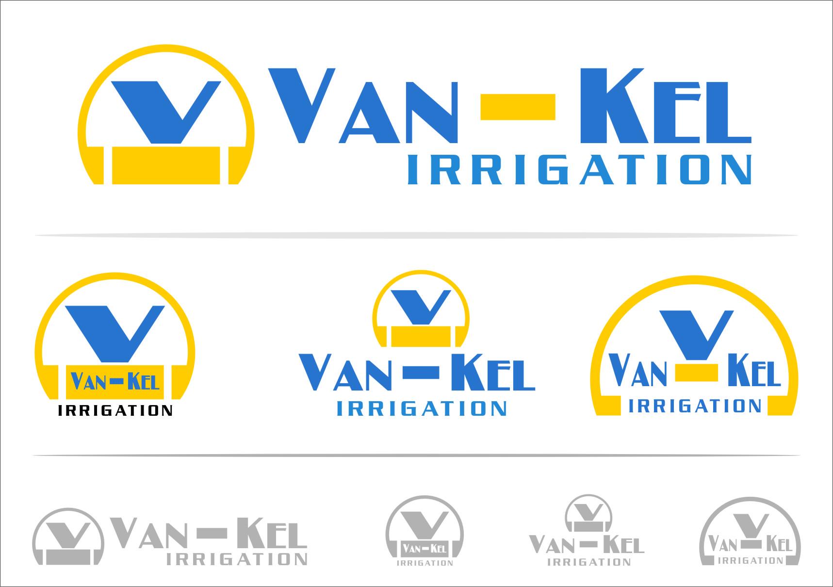 Logo Design by Ngepet_art - Entry No. 104 in the Logo Design Contest Van-Kel Irrigation Logo Design.
