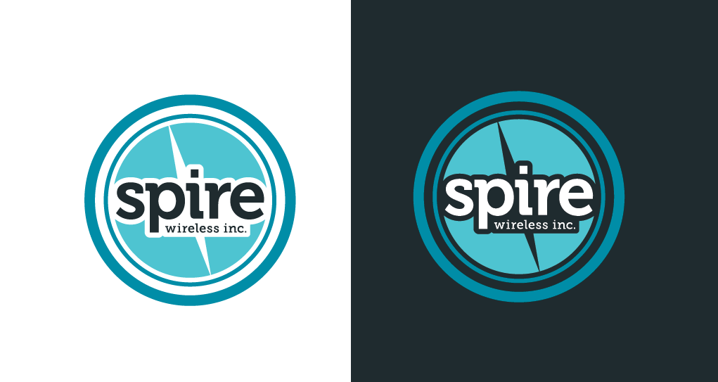 Logo Design by Kayla Labatte - Entry No. 192 in the Logo Design Contest Logo Design for Spire Wireless Inc.