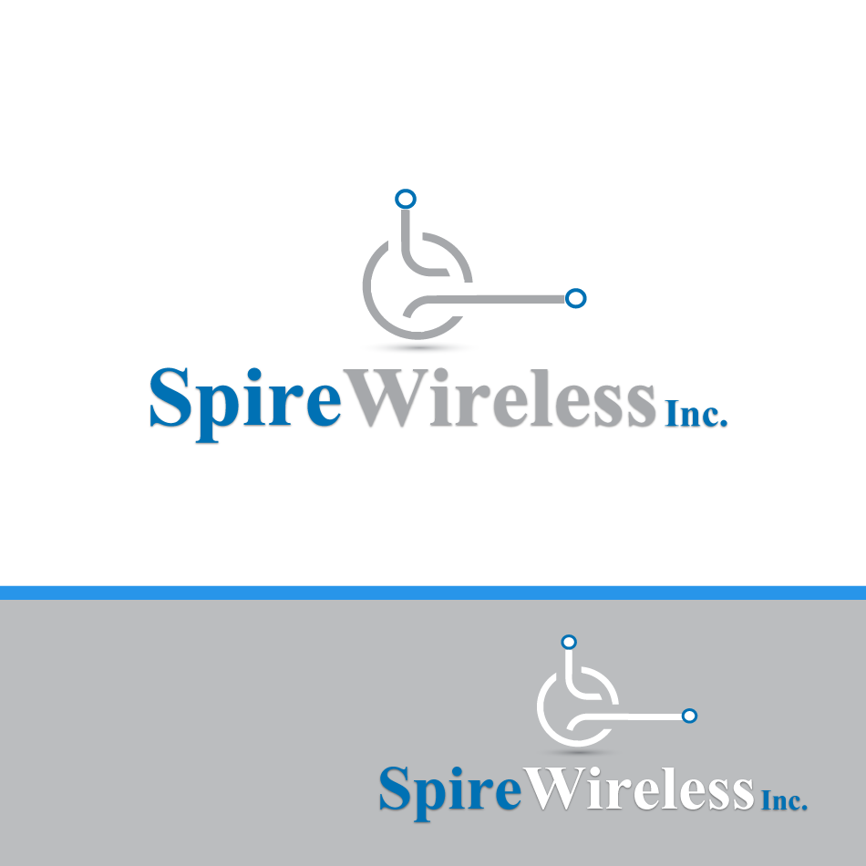 Logo Design by moonflower - Entry No. 193 in the Logo Design Contest Logo Design for Spire Wireless Inc.