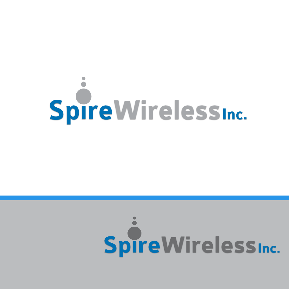 Logo Design by moonflower - Entry No. 196 in the Logo Design Contest Logo Design for Spire Wireless Inc.