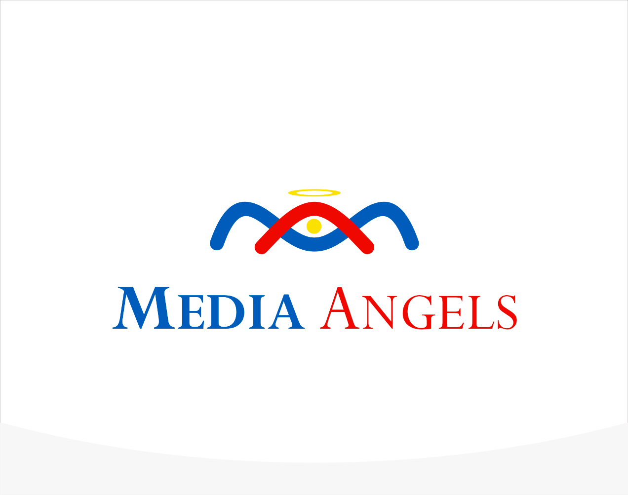 Logo Design by Armada Jamaluddin - Entry No. 151 in the Logo Design Contest New Logo Design for Media Angels.