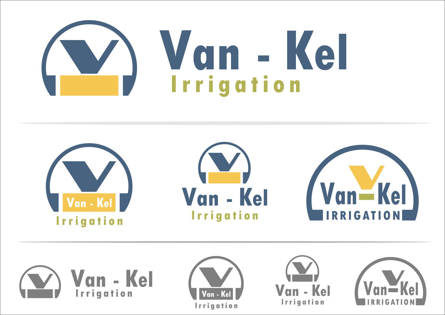 Logo Design by Ngepet_art - Entry No. 112 in the Logo Design Contest Van-Kel Irrigation Logo Design.