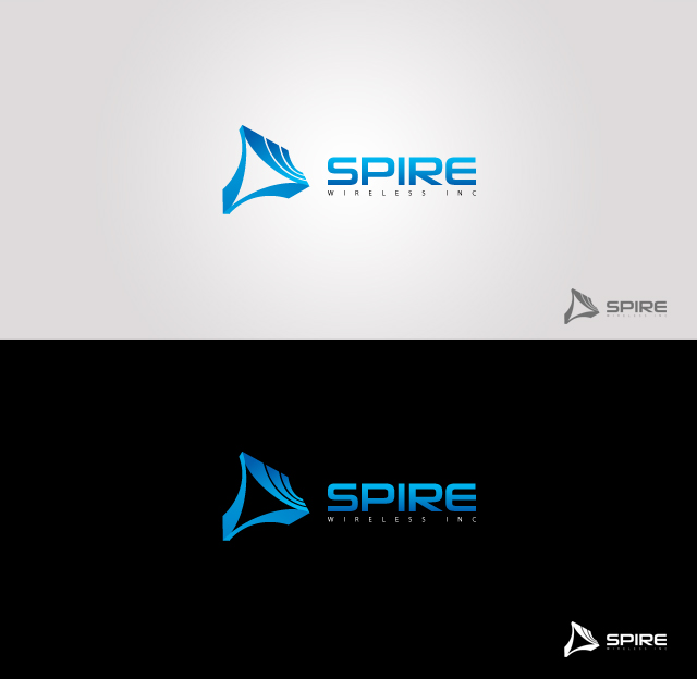 Logo Design by Private User - Entry No. 203 in the Logo Design Contest Logo Design for Spire Wireless Inc.