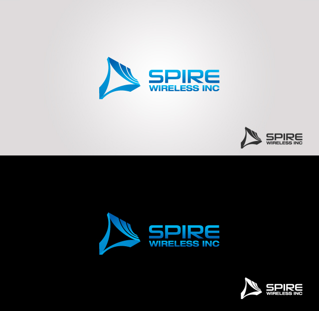 Logo Design by Private User - Entry No. 206 in the Logo Design Contest Logo Design for Spire Wireless Inc.
