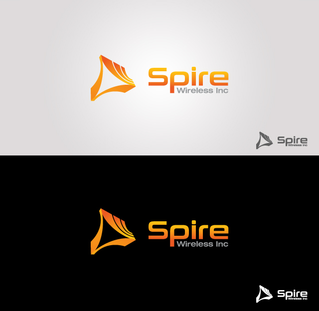 Logo Design by Private User - Entry No. 208 in the Logo Design Contest Logo Design for Spire Wireless Inc.