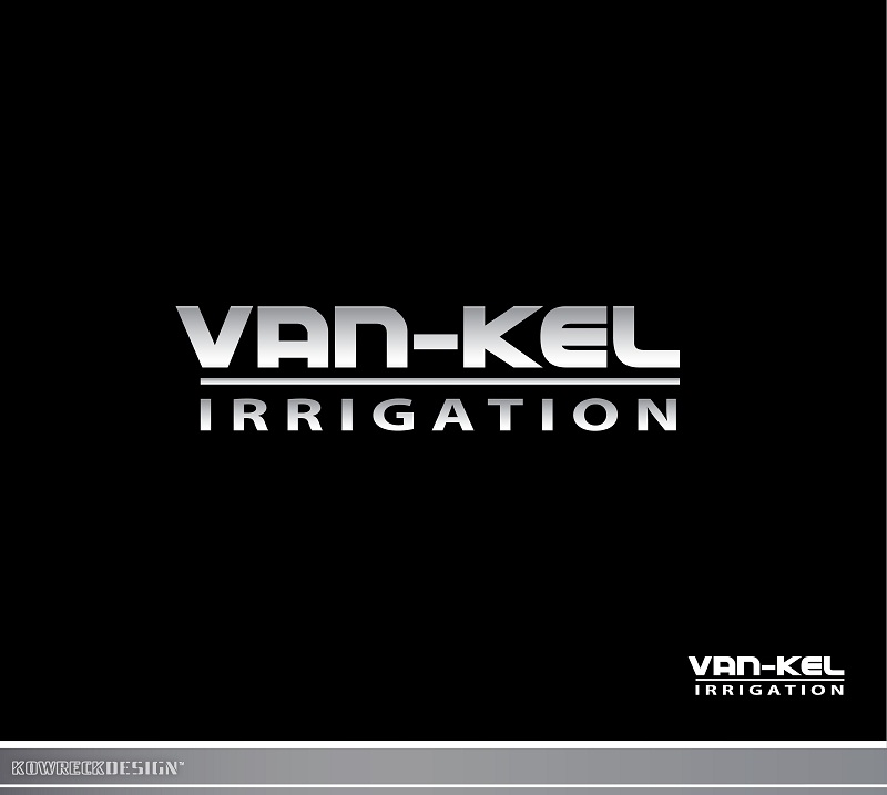 Logo Design by kowreck - Entry No. 115 in the Logo Design Contest Van-Kel Irrigation Logo Design.
