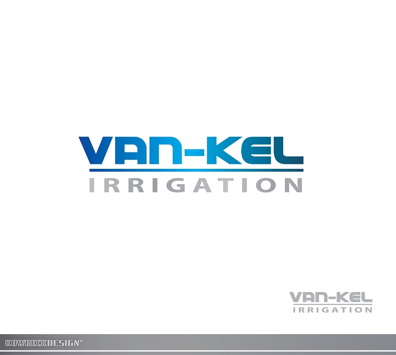 Logo Design by kowreck - Entry No. 116 in the Logo Design Contest Van-Kel Irrigation Logo Design.