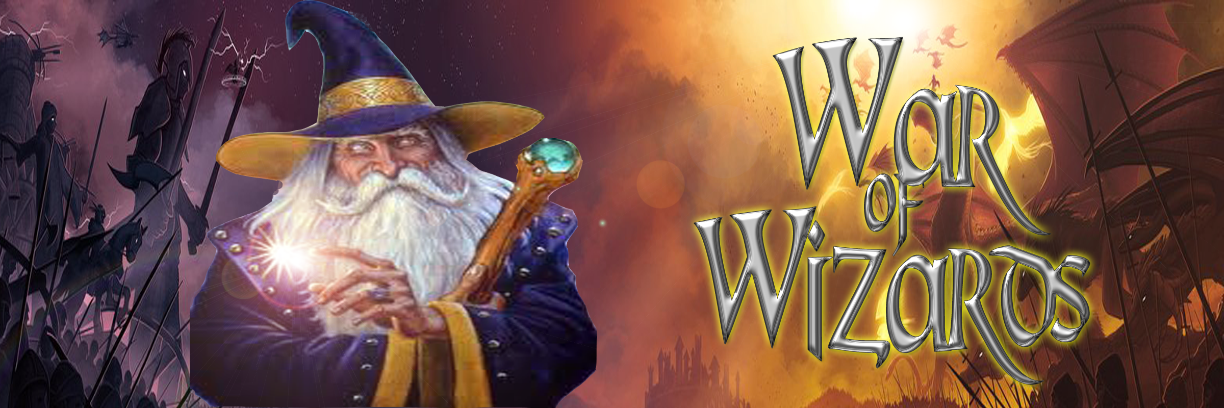 Banner Ad Design by Lara Puno - Entry No. 35 in the Banner Ad Design Contest Banner Ad Design - War of Wizards (fantasy game).