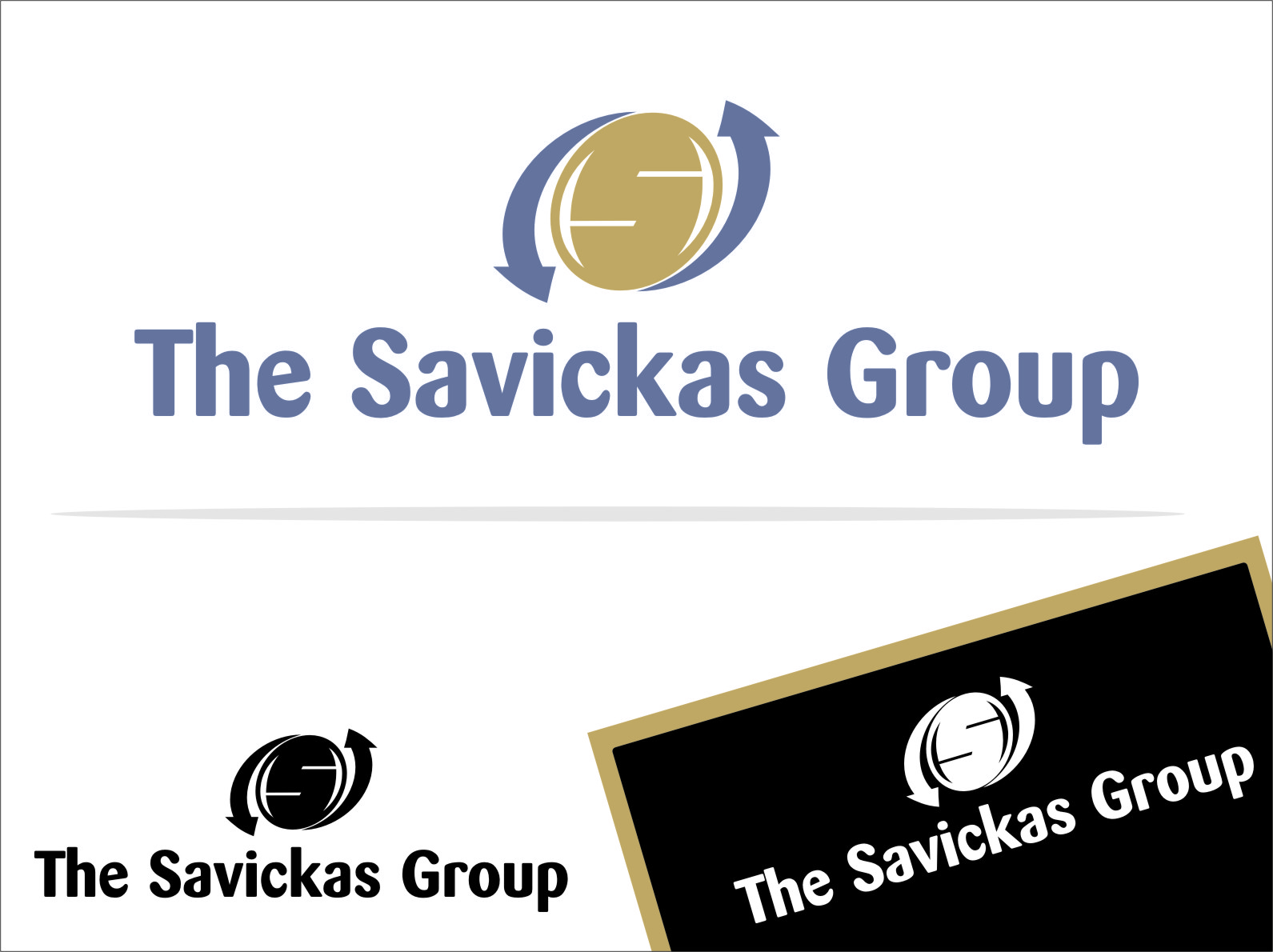 Logo Design by Ngepet_art - Entry No. 6 in the Logo Design Contest Logo Design Needed for Exciting New Company The Savickas Group.