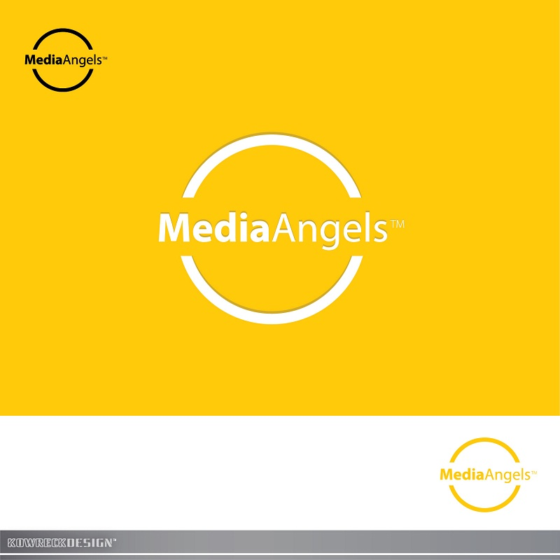 Logo Design by kowreck - Entry No. 158 in the Logo Design Contest New Logo Design for Media Angels.