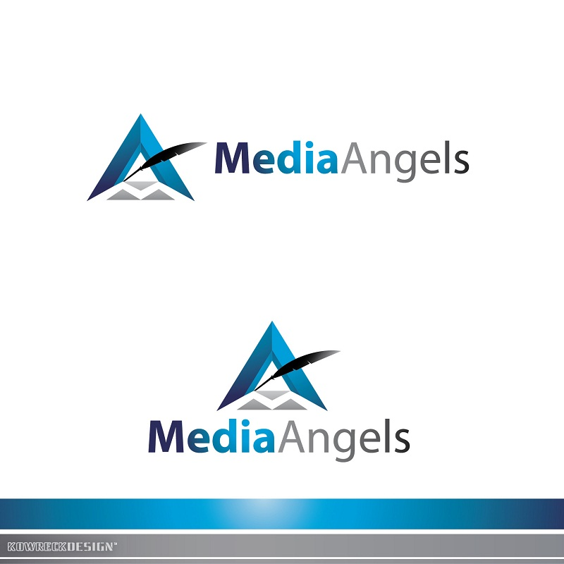Logo Design by kowreck - Entry No. 159 in the Logo Design Contest New Logo Design for Media Angels.