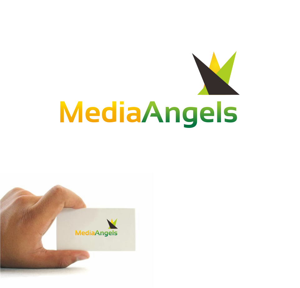 Logo Design by Mitchnick Sunardi - Entry No. 160 in the Logo Design Contest New Logo Design for Media Angels.