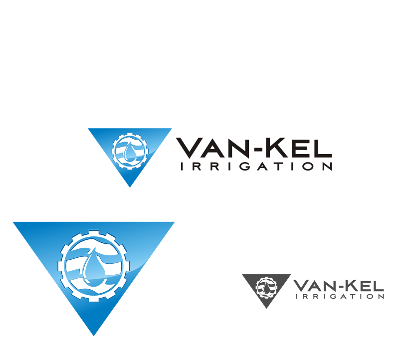 Logo Design by graphicleaf - Entry No. 138 in the Logo Design Contest Van-Kel Irrigation Logo Design.