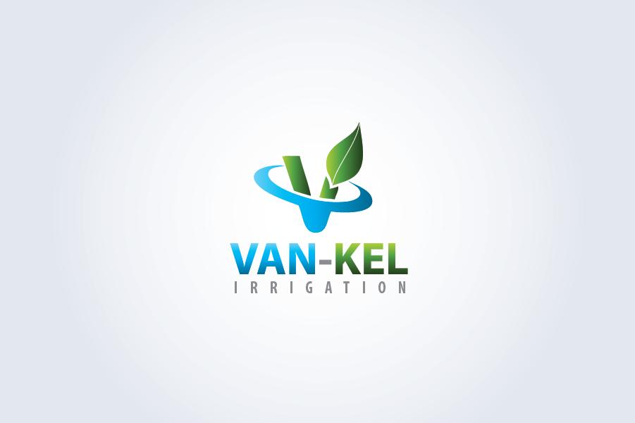 Logo Design by Muhammad Moinjaved - Entry No. 140 in the Logo Design Contest Van-Kel Irrigation Logo Design.