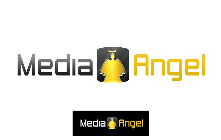 Logo Design by Respati Himawan - Entry No. 161 in the Logo Design Contest New Logo Design for Media Angels.