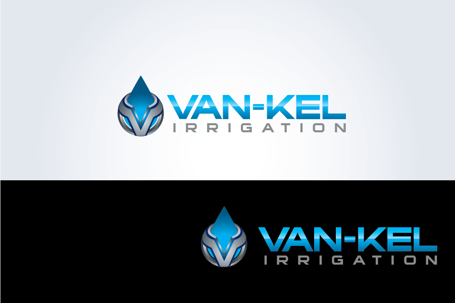 Logo Design by Private User - Entry No. 141 in the Logo Design Contest Van-Kel Irrigation Logo Design.