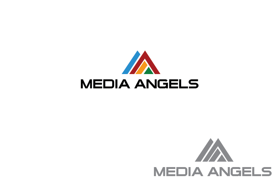 Logo Design by Private User - Entry No. 164 in the Logo Design Contest New Logo Design for Media Angels.