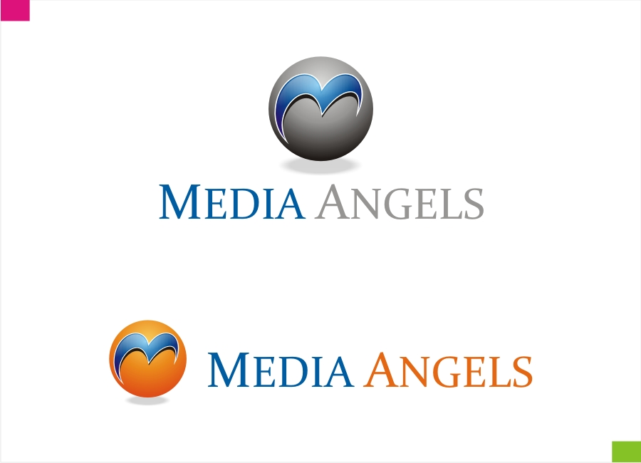 Logo Design by Private User - Entry No. 165 in the Logo Design Contest New Logo Design for Media Angels.