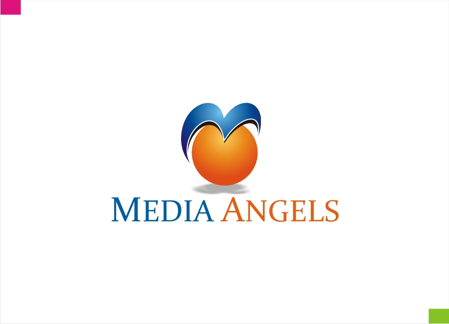 Logo Design by Private User - Entry No. 166 in the Logo Design Contest New Logo Design for Media Angels.