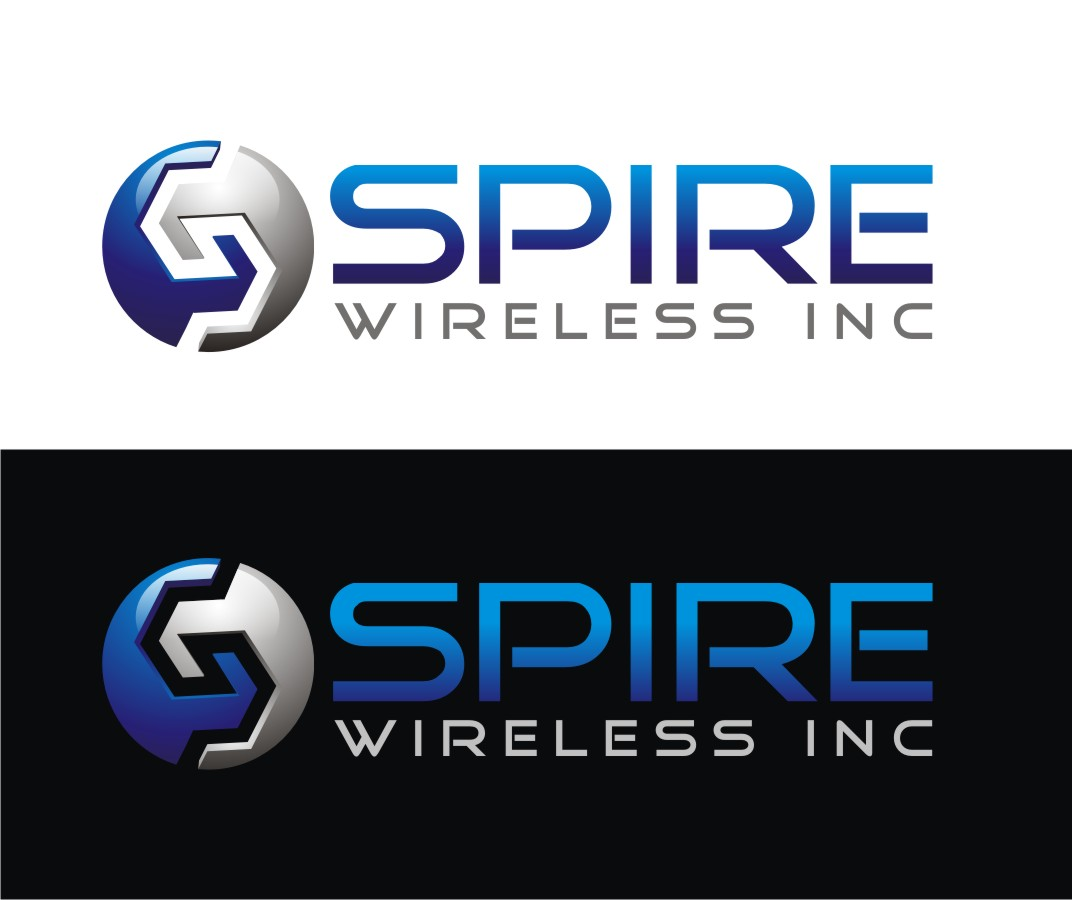 Logo Design by Reivan Ferdinan - Entry No. 225 in the Logo Design Contest Logo Design for Spire Wireless Inc.