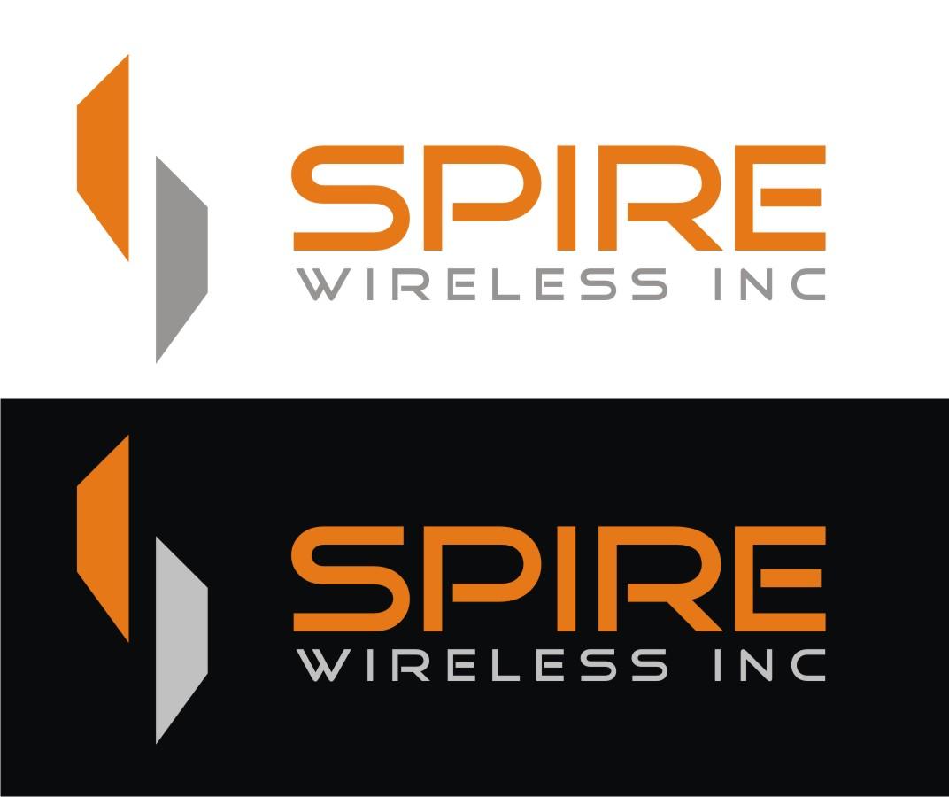 Logo Design by Reivan Ferdinan - Entry No. 226 in the Logo Design Contest Logo Design for Spire Wireless Inc.