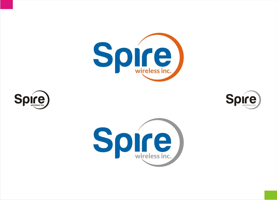 Logo Design by Private User - Entry No. 227 in the Logo Design Contest Logo Design for Spire Wireless Inc.