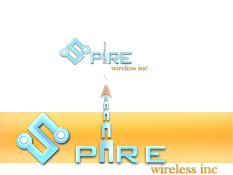 Logo Design by Piyush Rastogi - Entry No. 228 in the Logo Design Contest Logo Design for Spire Wireless Inc.