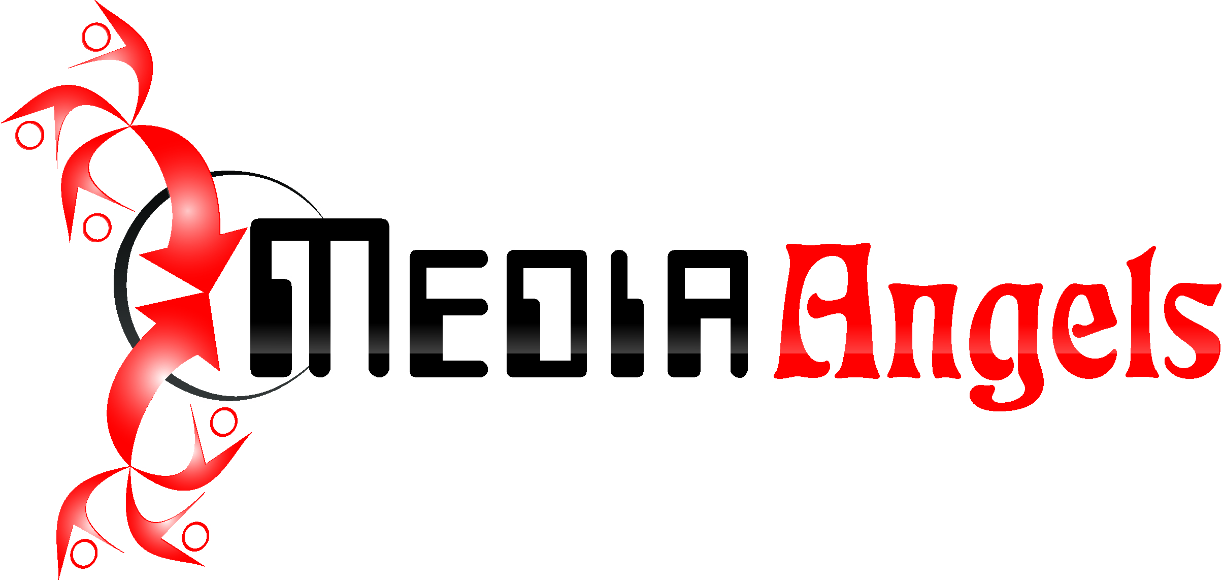 Logo Design by Private User - Entry No. 171 in the Logo Design Contest New Logo Design for Media Angels.