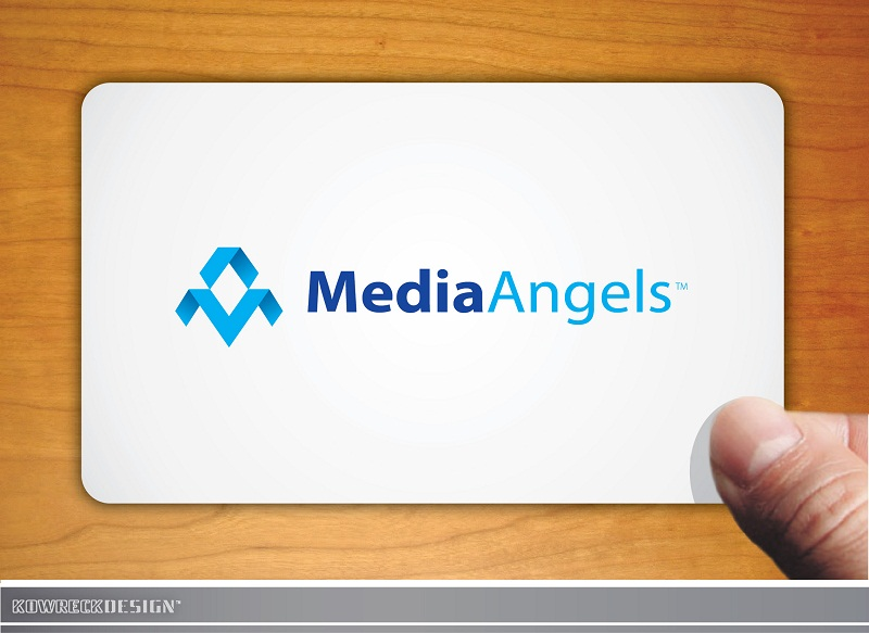 Logo Design by kowreck - Entry No. 174 in the Logo Design Contest New Logo Design for Media Angels.