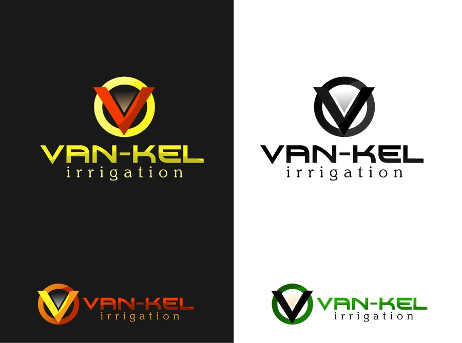 Logo Design by Private User - Entry No. 151 in the Logo Design Contest Van-Kel Irrigation Logo Design.