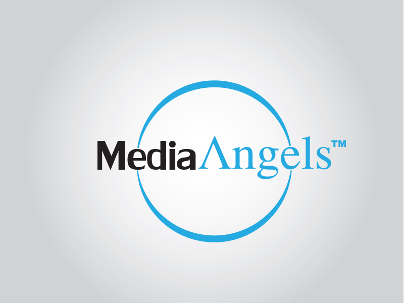 Logo Design by Mythos Designs - Entry No. 176 in the Logo Design Contest New Logo Design for Media Angels.