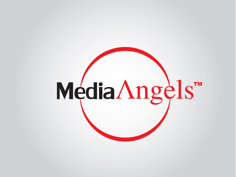 Logo Design by Mythos Designs - Entry No. 177 in the Logo Design Contest New Logo Design for Media Angels.