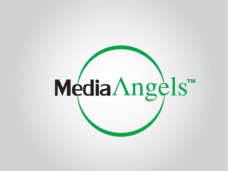 Logo Design by Mythos Designs - Entry No. 178 in the Logo Design Contest New Logo Design for Media Angels.
