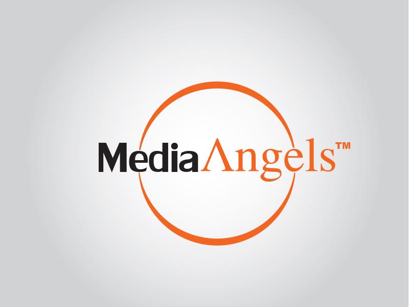 Logo Design by Mythos Designs - Entry No. 179 in the Logo Design Contest New Logo Design for Media Angels.