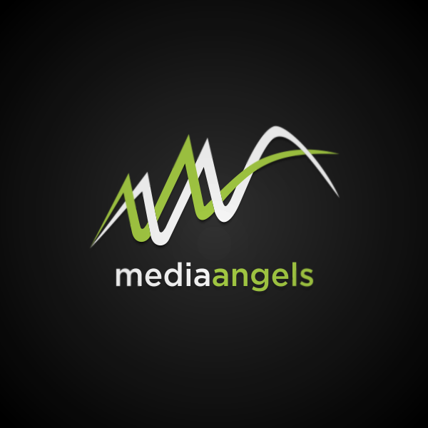 Logo Design by Private User - Entry No. 180 in the Logo Design Contest New Logo Design for Media Angels.