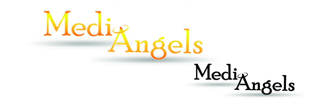 Logo Design by Uroob Rubbani - Entry No. 185 in the Logo Design Contest New Logo Design for Media Angels.