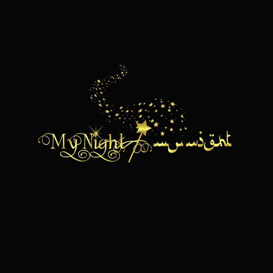 Logo Design by moonflower - Entry No. 64 in the Logo Design Contest Unique Logo Design Wanted for My Night - ليلتي.