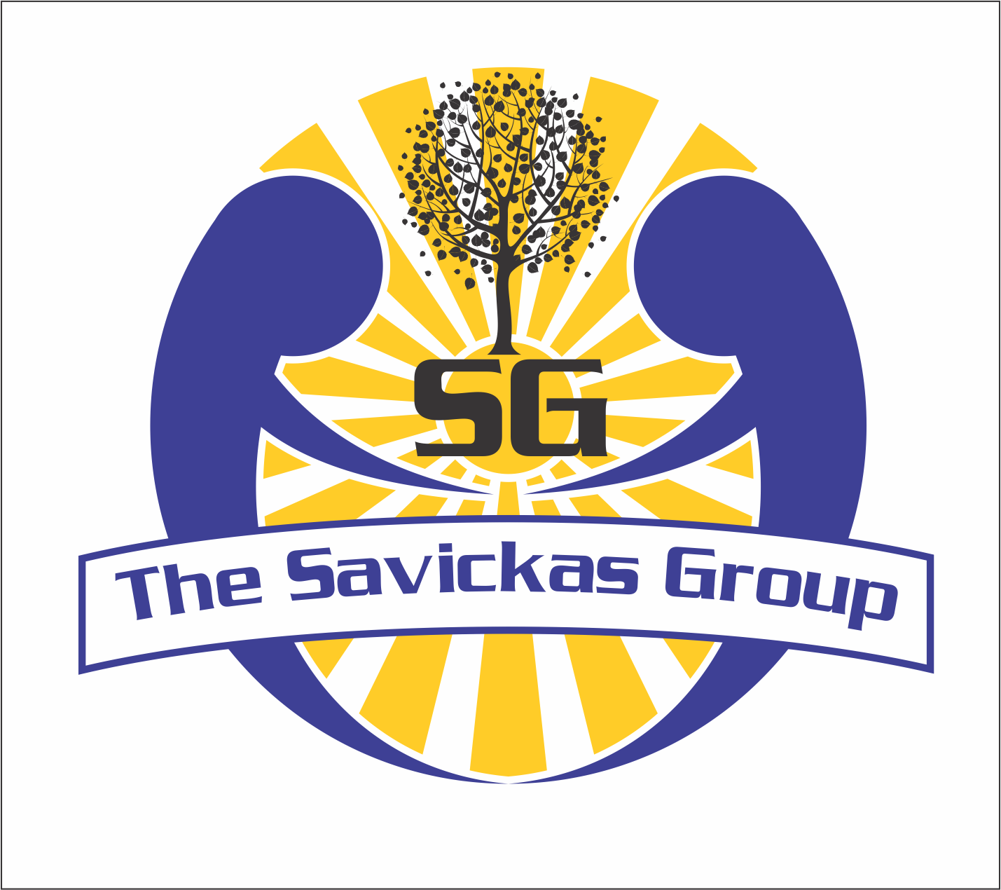 Logo Design by Mufti Kurniawan - Entry No. 15 in the Logo Design Contest Logo Design Needed for Exciting New Company The Savickas Group.