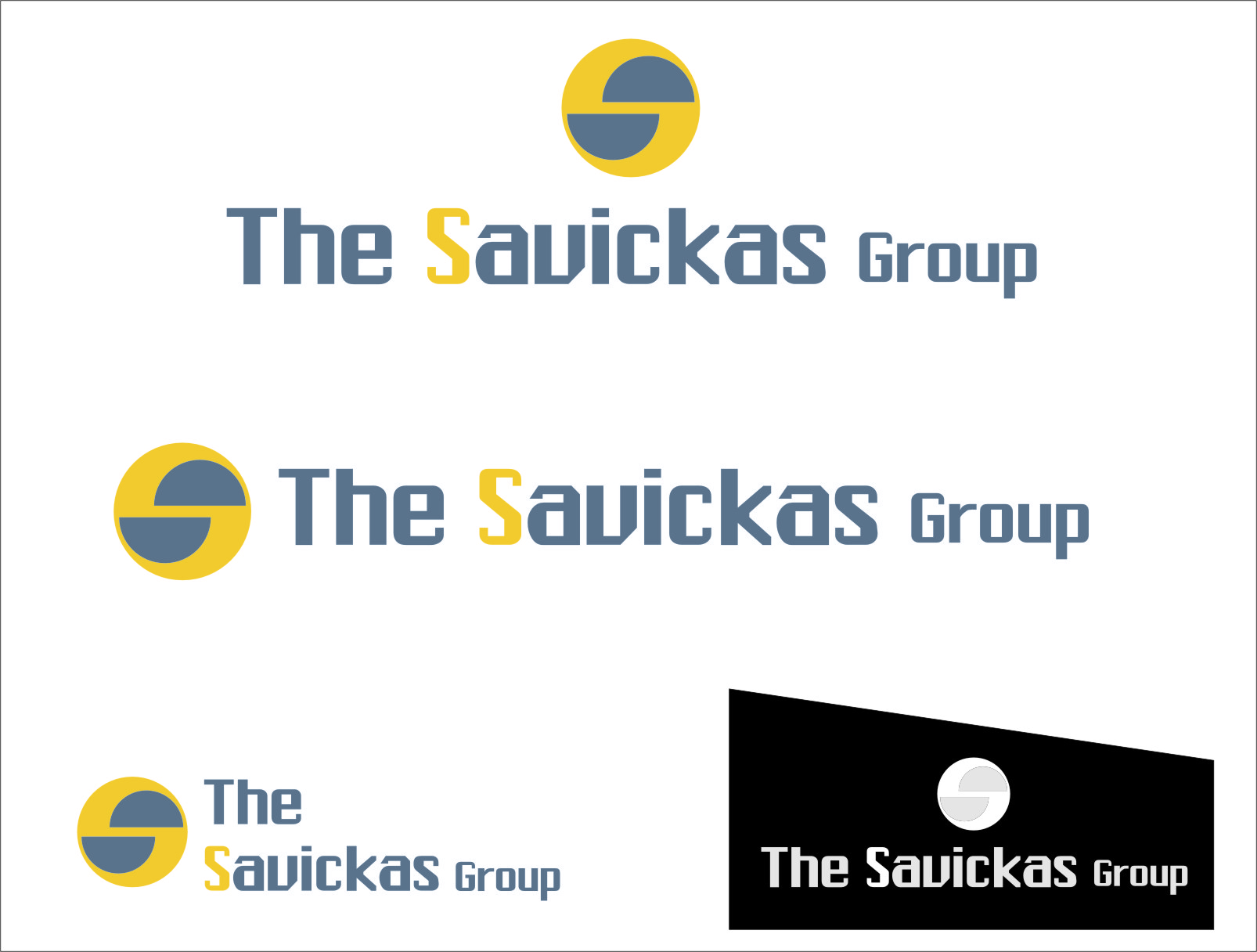 Logo Design by RasYa Muhammad Athaya - Entry No. 23 in the Logo Design Contest Logo Design Needed for Exciting New Company The Savickas Group.