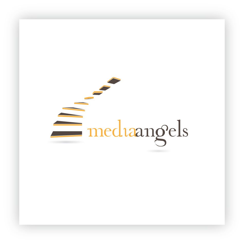 Logo Design by trav - Entry No. 192 in the Logo Design Contest New Logo Design for Media Angels.
