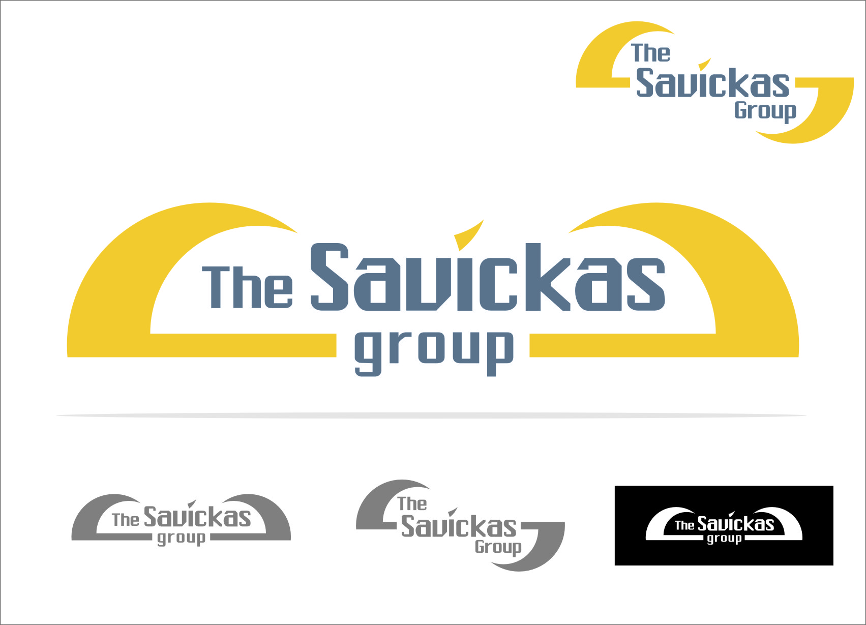 Logo Design by Ngepet_art - Entry No. 24 in the Logo Design Contest Logo Design Needed for Exciting New Company The Savickas Group.
