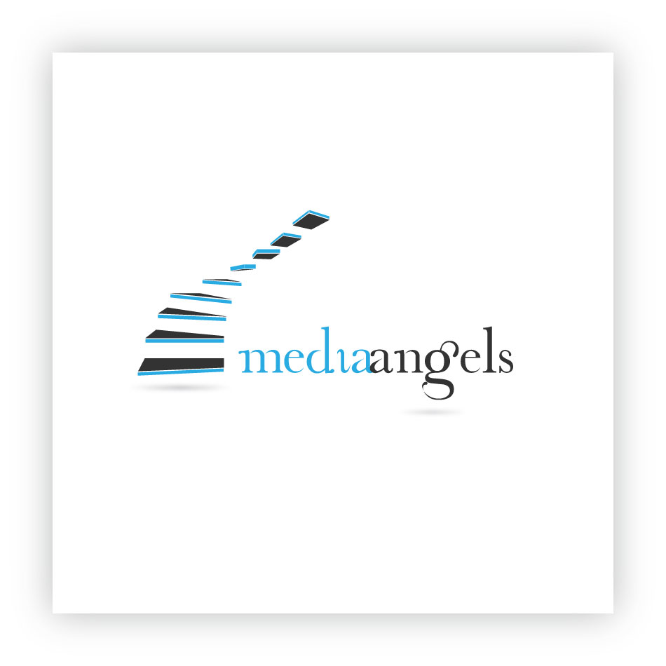Logo Design by trav - Entry No. 193 in the Logo Design Contest New Logo Design for Media Angels.