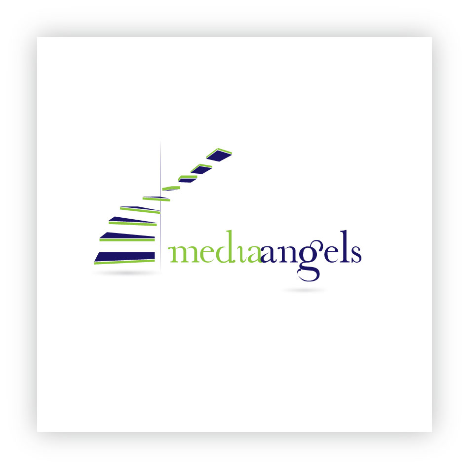 Logo Design by trav - Entry No. 194 in the Logo Design Contest New Logo Design for Media Angels.