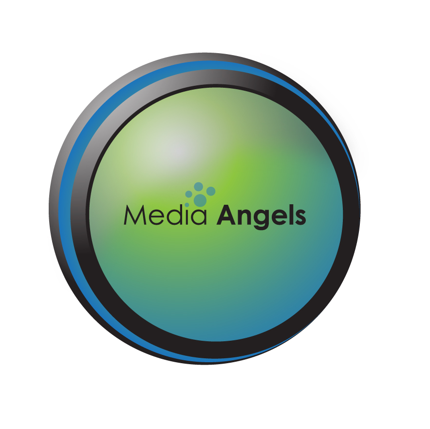 Logo Design by 3draw - Entry No. 195 in the Logo Design Contest New Logo Design for Media Angels.
