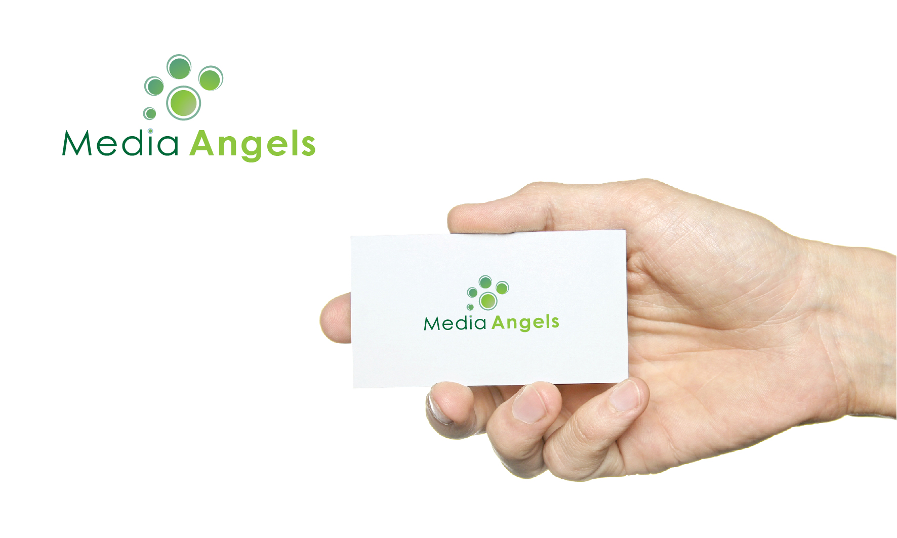 Logo Design by 3draw - Entry No. 200 in the Logo Design Contest New Logo Design for Media Angels.