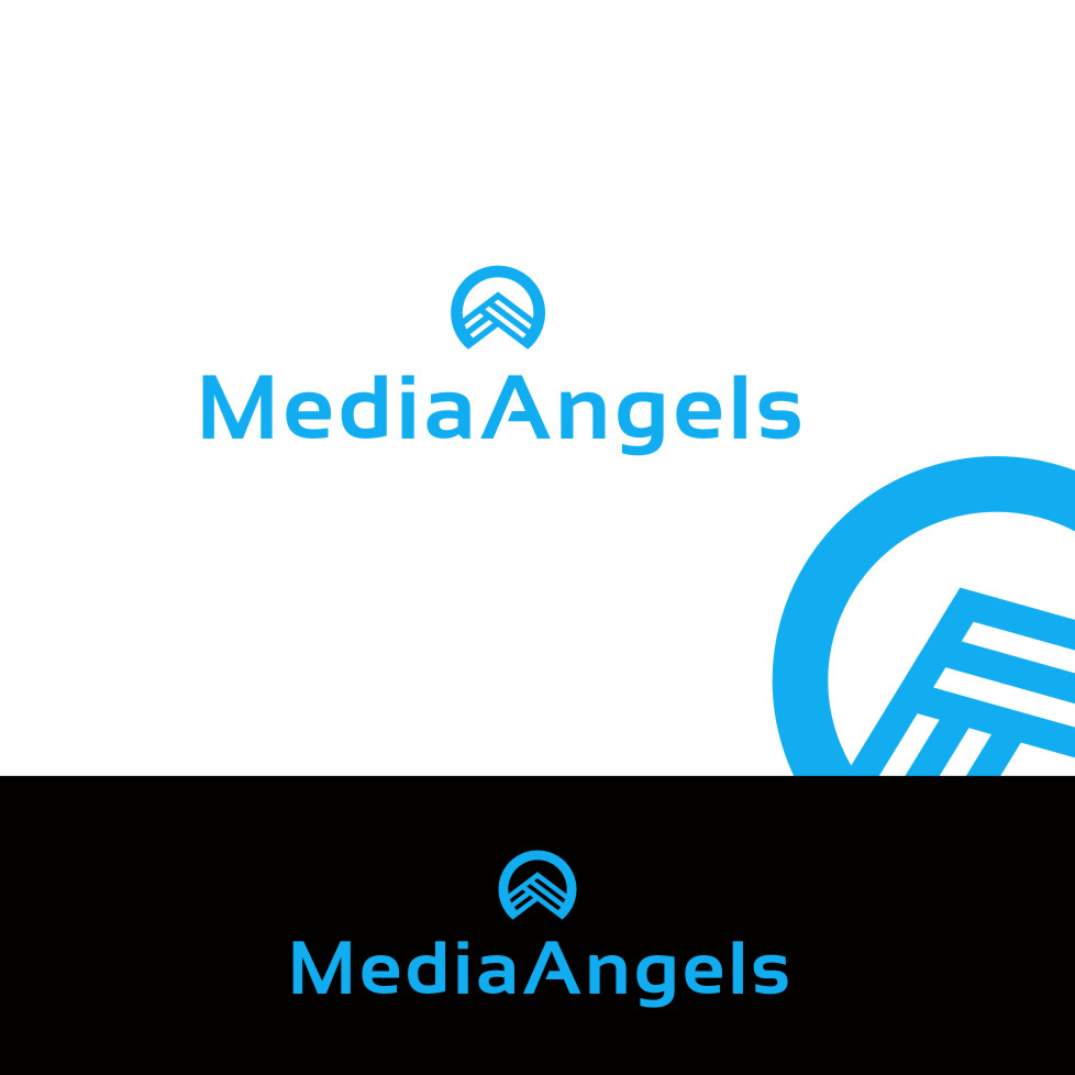Logo Design by Private User - Entry No. 201 in the Logo Design Contest New Logo Design for Media Angels.