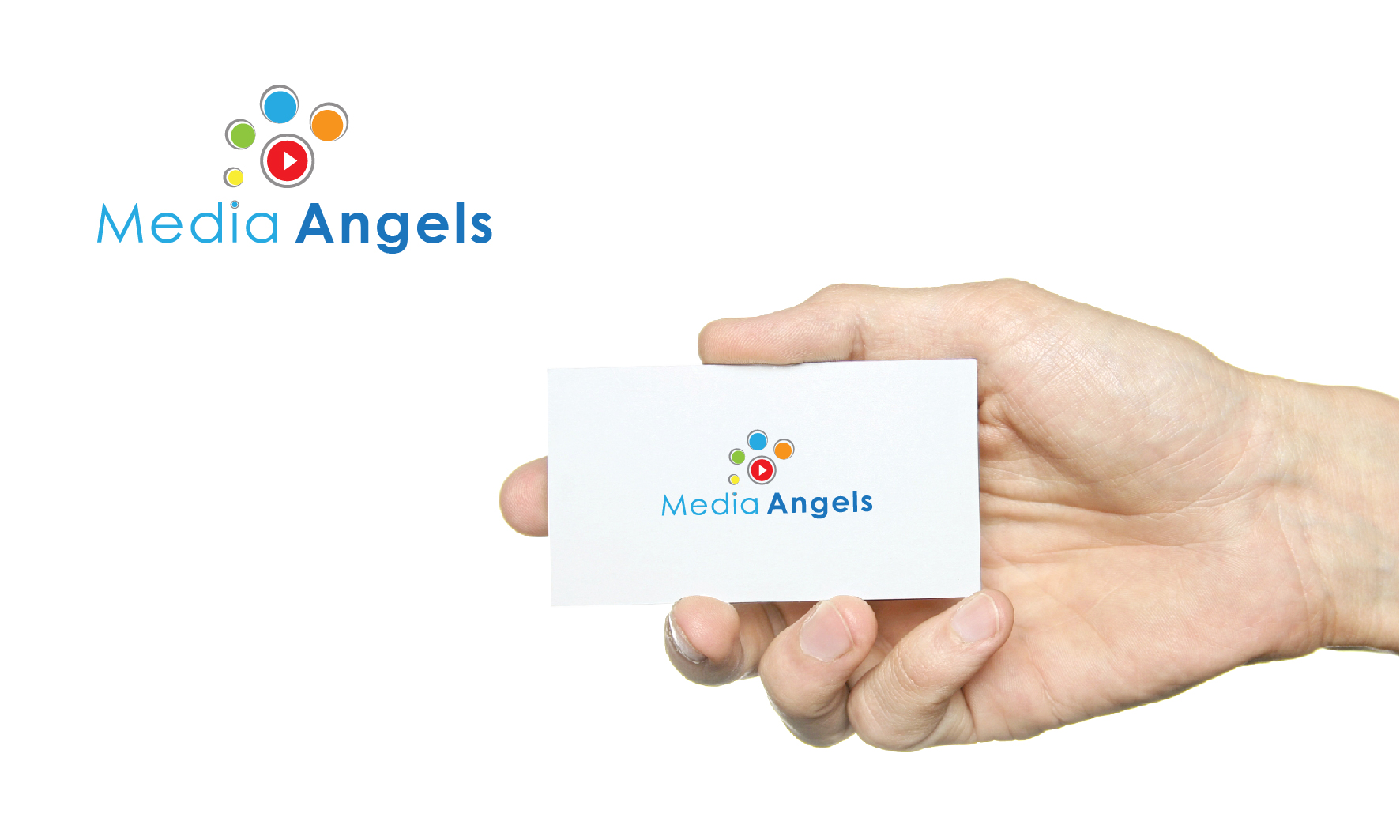 Logo Design by 3draw - Entry No. 202 in the Logo Design Contest New Logo Design for Media Angels.