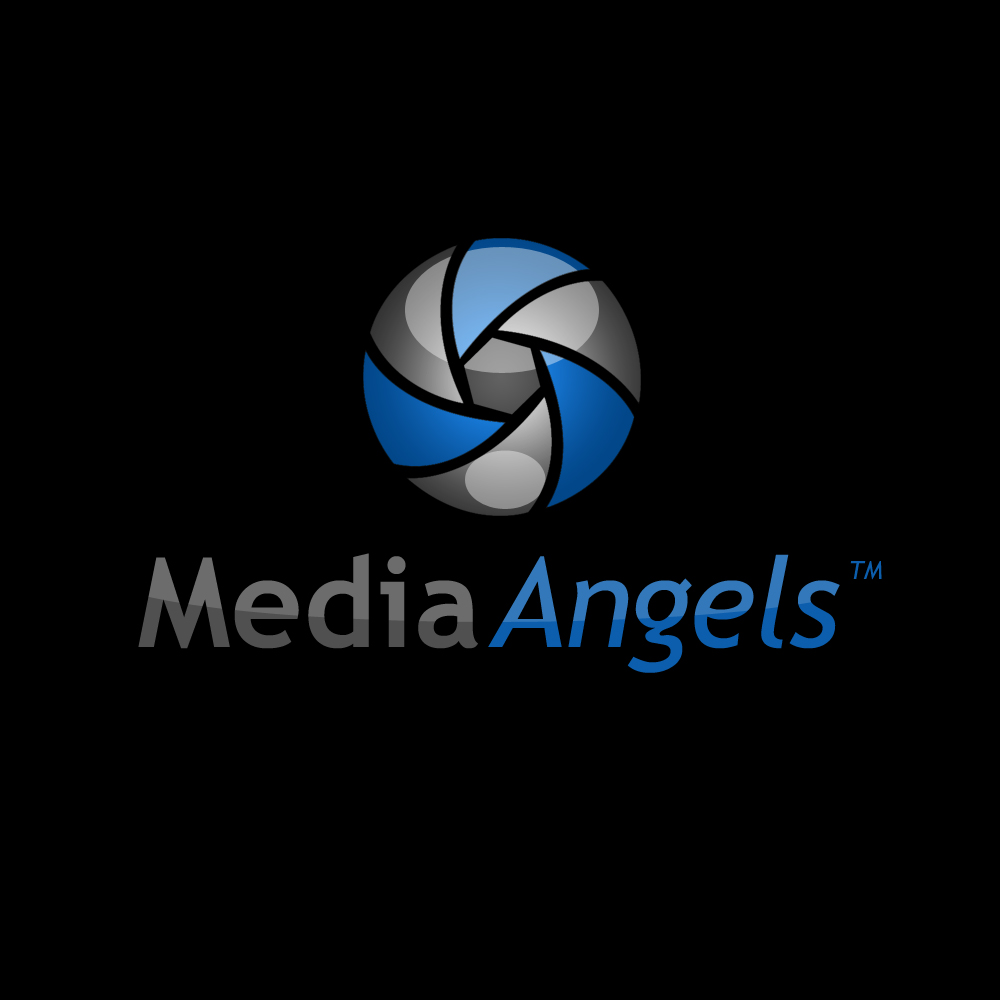Logo Design by omARTist - Entry No. 206 in the Logo Design Contest New Logo Design for Media Angels.